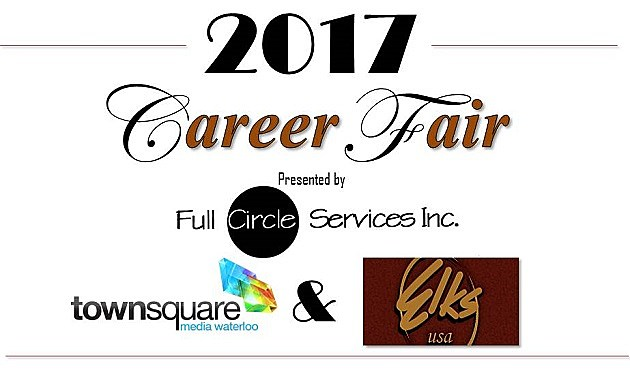Career Fair Header with Title sponsor