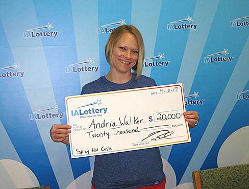 Andria Walker - Iowa Lottery