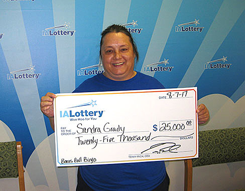 Sandra Grady - Iowa Lottery